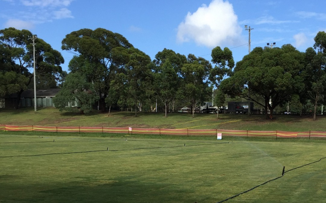 Another Sports Field Re-Construction by Solid Ground Landscaping