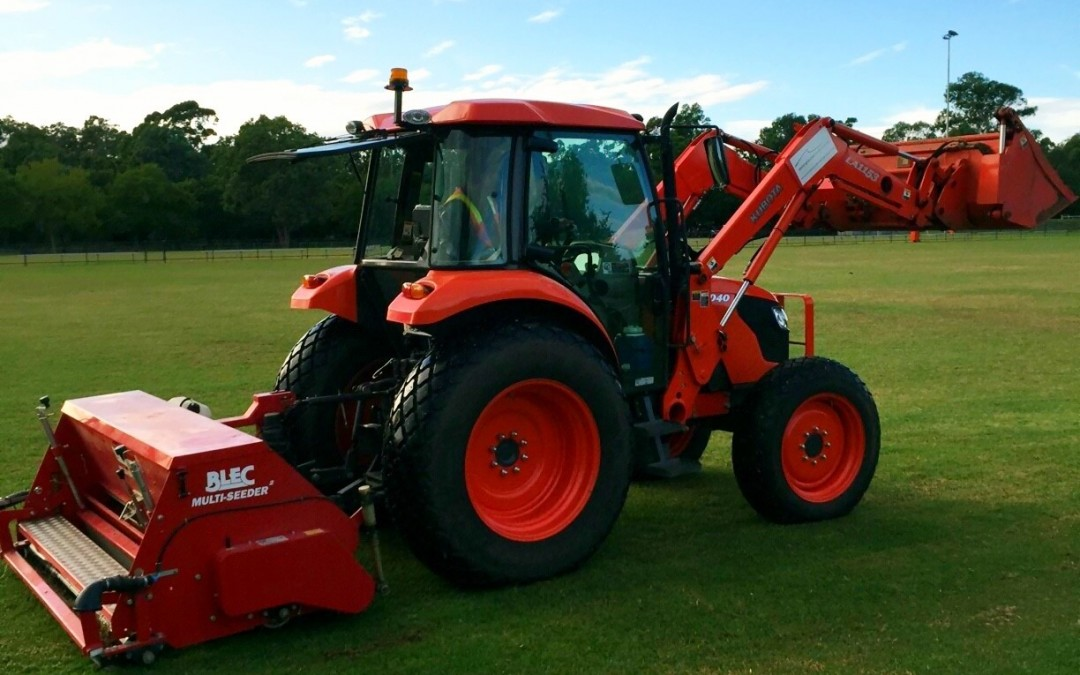Seeding with Rye in Preparation for Winter Sports can enhance Your Sports Fields