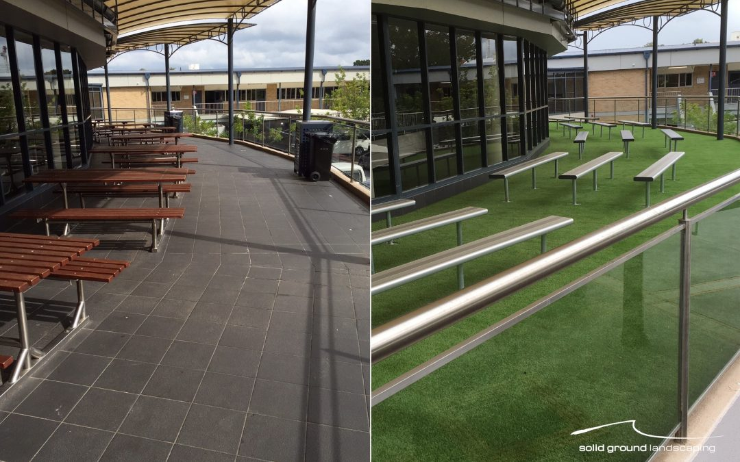 Solid Ground Landscaping Transforms another Outdoor Area